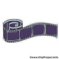 Pellicule dessin - Film cliparts à télécharger