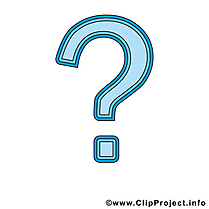Question illustration gratuite clipart