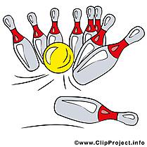 Quille dessin gratuit - Bowling image gratuite