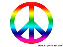 Symbole de la paix image - Pacifisme cliparts