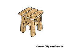 Tabouret illustration images gratuites