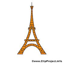 Tour Eiffel dessins gratuits - Paris clipart gratuit