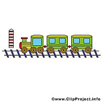 Train clip art gratuit – Chemin de fer images gratuites