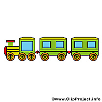 Train clipart gratuit - Locomotive dessins gratuits