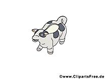 Vache dessin cliparts à télécharger