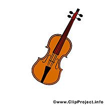 Violon image gratuite - Musique images cliparts