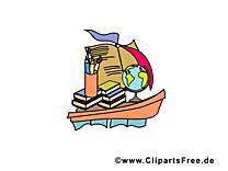 Bateau image gratuite – École illustration