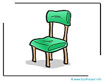 Chaise dessins gratuits – École clipart