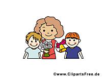 Enseignante image gratuite – École cliparts