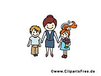 Enseignante images – École dessins gratuits