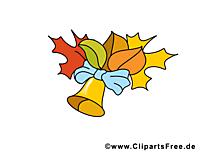 Feuilles illustration gratuite – École clipart