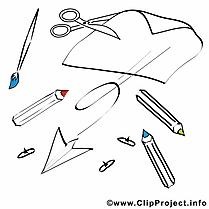 Fourniture scolaire images – École dessins gratuits