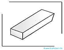 Gomme illustration gratuite – École clipart
