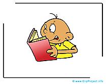 Lire livre dessin – École à télécharger