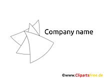 Coloriage dessin design – Logo clip arts gratuits