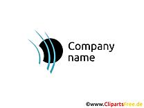 Compagnie logo illustration à télécharger gratuite