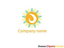 Soleil images gratuites – Logo clipart
