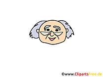 Grand-père images – Émoticônes clip art gratuit