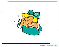 Pleurer dessin – Émoticônes à télécharger