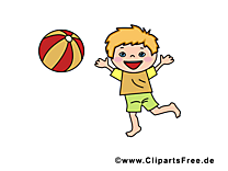 Balle images - Enfant dessins gratuits