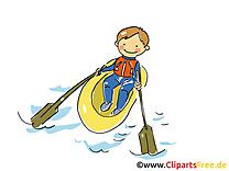 Bateau clipart gratuit - Garçon dessins gratuits
