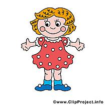 Fille dessin gratuit à télécharger image