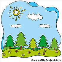 Ciel soleil dessin gratuit – Été image