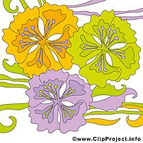 Fleurs images à télécharger – Été clip art gratuit