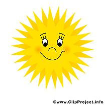 Image soleil gratuite – Été clipart