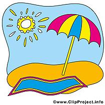 Parasol clip art à télécharger – Été gratuite