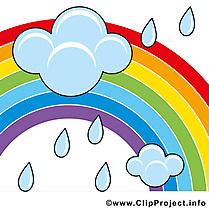 Pluie été illustration à télécharger gratuite