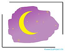 Lune image – Conte de fées images cliparts