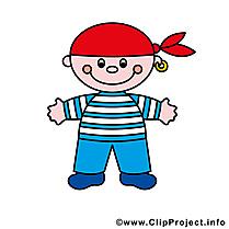 Pirate dessin gratuit image