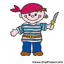 Pirate images - Couteau clip art gratuit