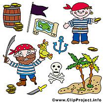 Pirates clip art gratuit – Palme images gratuites