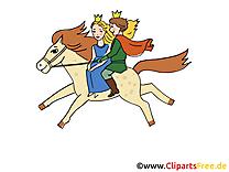 Prince dessins gratuits – Conte de fées clipart