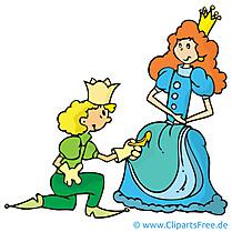 Princesse prince clip art gratuit – Conte de fées images