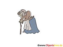 Sorcière dessin – Conte de fées à télécharger