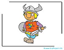 Viking clip arts gratuits – Conte de fées illustrations
