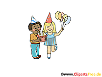Anniversaire dessin gratuit à télécharger