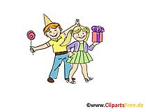 Anniversaire image gratuite - Fête illustration