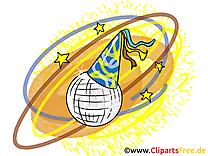 Boule à facettes image - Disco illustration