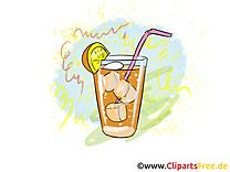 Cocktail clip art – Soirée image gratuite