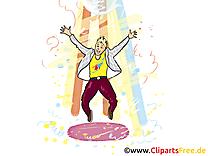 Danse image à télécharger - Soirée clipart