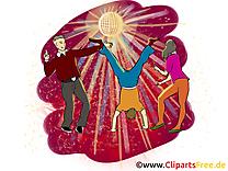 Discothèque dessins gratuits - Soirée clipart gratuit