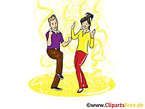 Images gratuites disco – Danse clipart gratuit