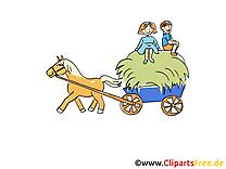 Charrette clipart – Ferme dessins gratuits