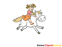 Cheval illustration – Ferme images