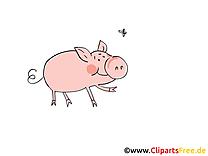 Illustrations clip arts gratuits ferme