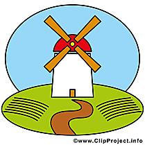 Moulin clip arts gratuits – Ferme illustrations